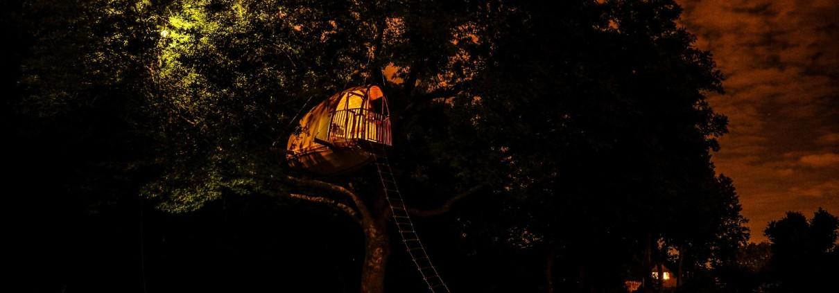 cocoobane-cabane-bois-perchee-nuit-ecobane