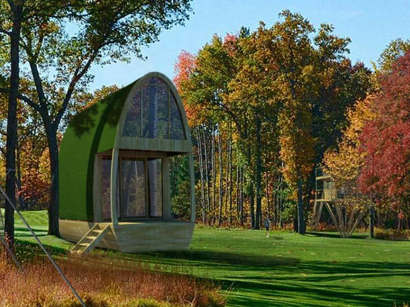 mezzabane cabane bois 1 tage en plus 2 visions nature. Black Bedroom Furniture Sets. Home Design Ideas