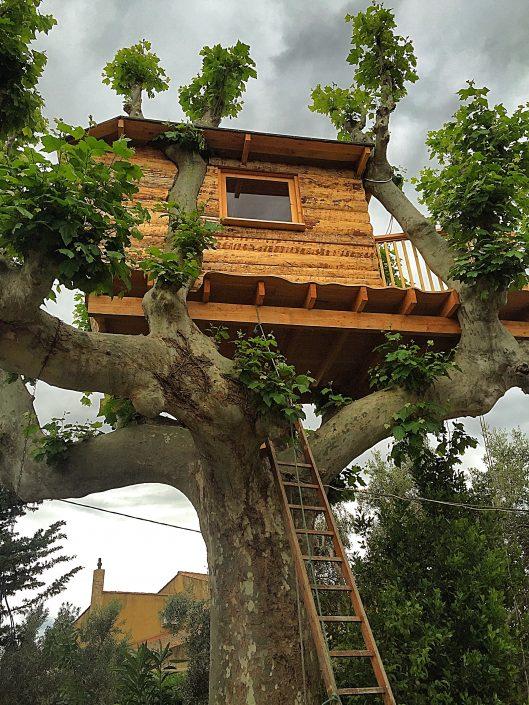 Ecobane constructeur cabanes bois et h bergements insolites for Cabane en bois moderne