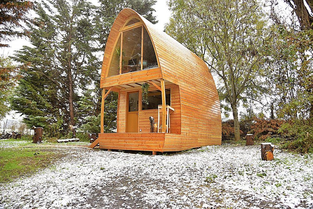 cabane deux étages