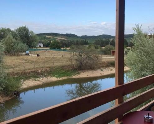 vue depuis une terrasse d'une panorabane