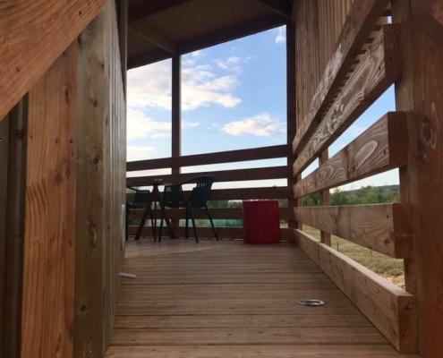 terrasse d'une panorabane