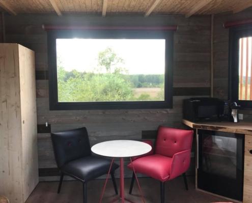 espace salon d'une panorabane
