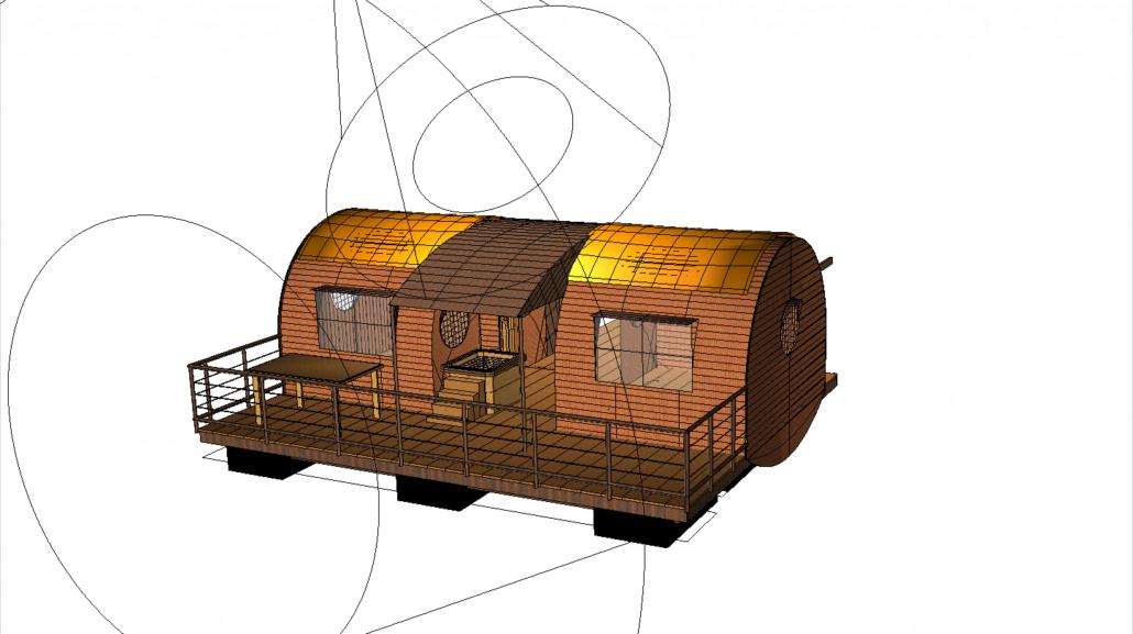 cabane cuivre