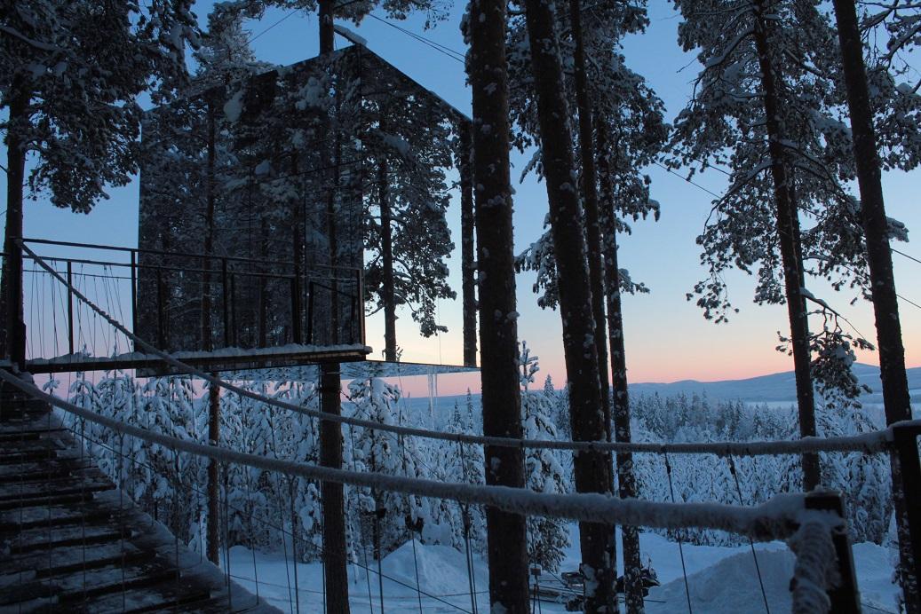 Cabane d'architecte, hébergement insolite en Suède