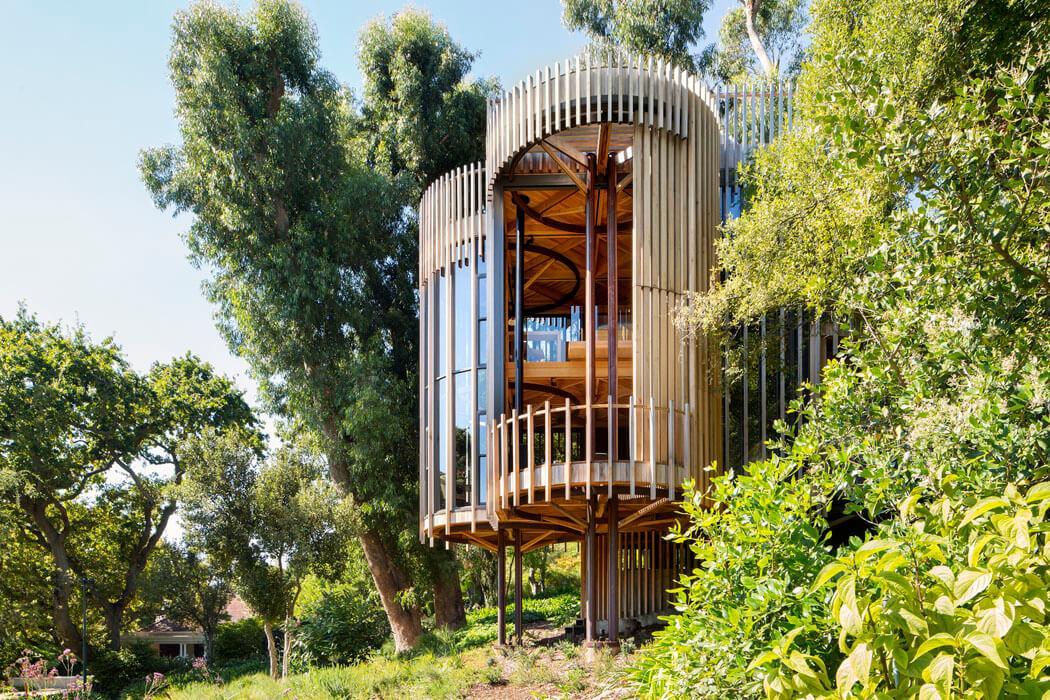 Cabane d'architecte, maison en bois originale