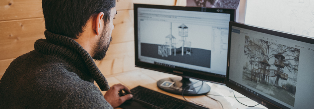 Ecobane, conception et construction de cabane en bois