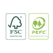 labels bois FSC et PEFC