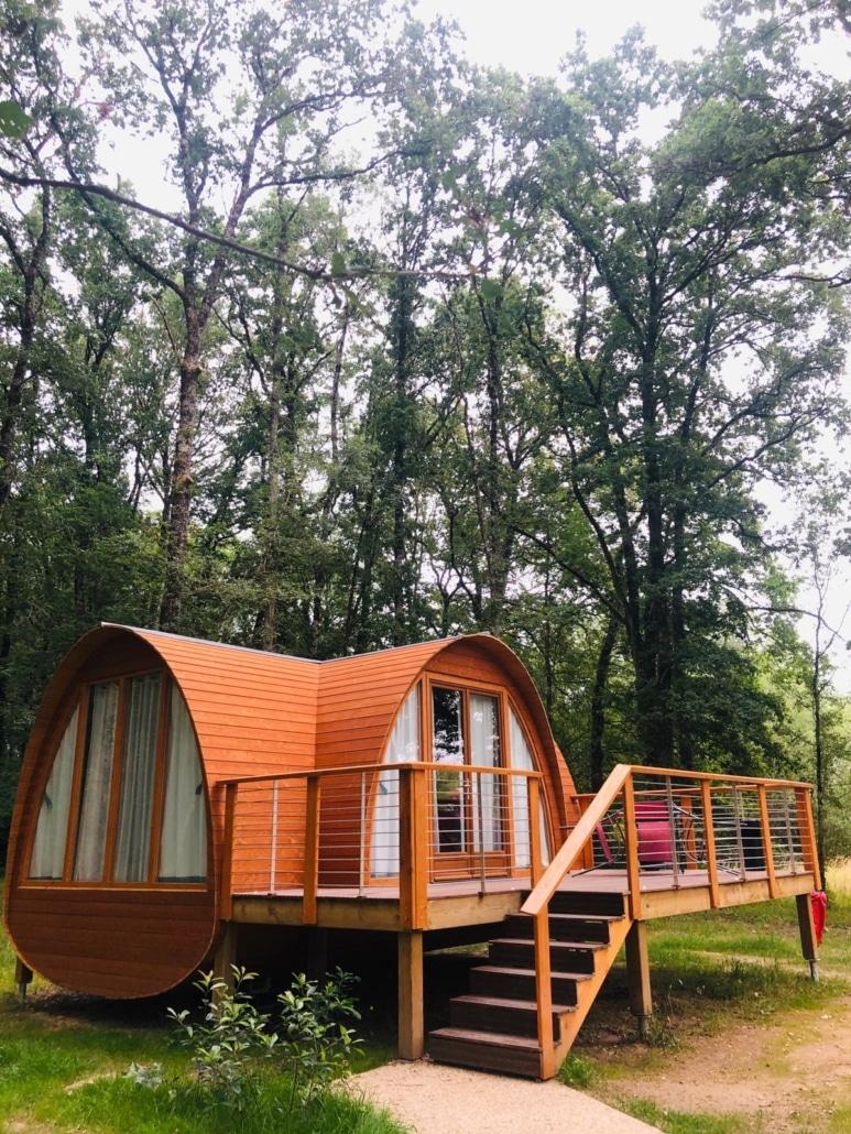 Cabane en bois personnalisée par Ecobane