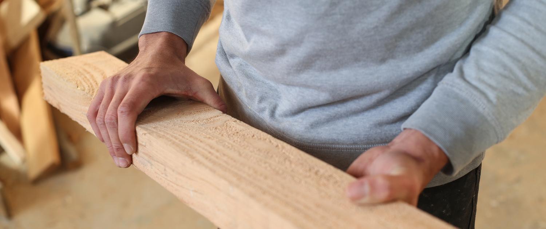 bois matière première de cabanes