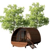 maquette 3D de la cabane astrabane