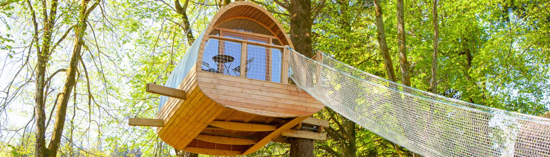 cabane perchee par Ecobane