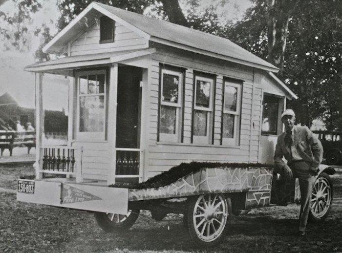 Les premières Tiny house
