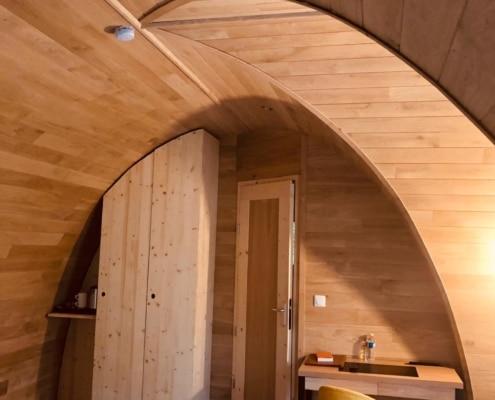 Intérieur d'une cabane Astrabane