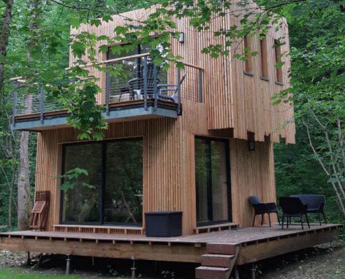 Cabane bois Studio Duplex